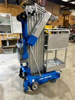 2011 GENIE AWP30S PUSH AROUND MANLIFT COMPACT  VERTICAL PLATFORM GENIE LIFT