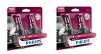 4x Philips 9005+H11 Upgrade More Vision Super Bright Light Bulb 65W GERMANY BEAM