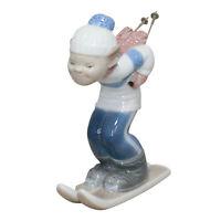 Lladro Figurine 4970 no box Skier Puppet