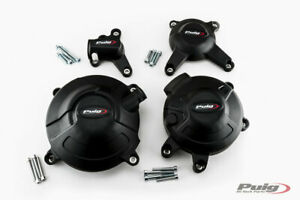 Puig Engine Protective Covers Yamaha MT-09 / SP 2014-2021