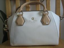 NEW Kate Spade Parnell Street Mini Pippa Leather Satchel in Magnolia White $325
