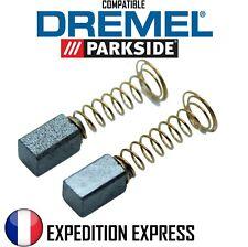 2x Charbons Brosses Balais Moteur DREMEL Série 200 275 285 300 395 3000 PARKSIDE