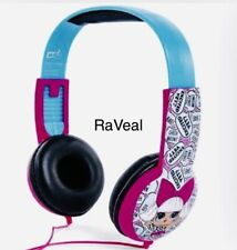 LOL Surprise Dolls Kid Safe Wired Headphones w/DIVA Perfect Gift VHTF