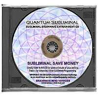 SUBLIMINAL SAVE MONEY-IMPROVE MANAGE MORE FINANCIAL SAVING BUDGETING YOUR INCOME