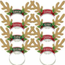 Amscan International Santas Reindeer Rack Headbands