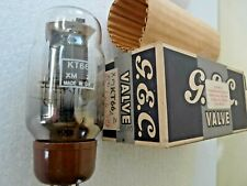 KT66  GEC Twin Halo Getters at Base  AA Valve Tube New Old Stock 1pc FEB20A