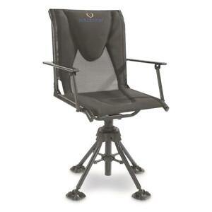 Portable Hunting Blind Chair With Armrests 360 Swivel Deer Hunting Camping Seat