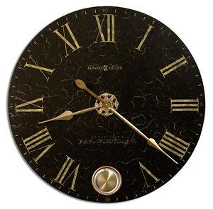 "NEW HOWARD MILLER  OVERSIZED WALL CLOCK 32"" CALLED ""LONDON NIGHT"" 620-474"