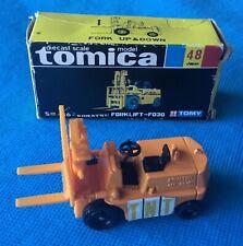 TOMICA, Japan, #48 Komatsu Forklift -FD30 TNT yellow Boxed