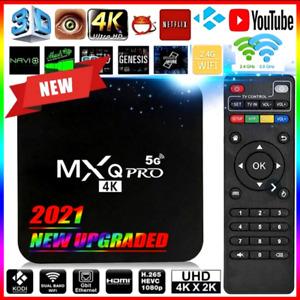 DECODER SMART TV BOX 4K 4GB RAM 32GB ROM ANDROID MXQ PRO WIFI QUAD CORE