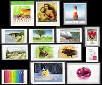 2012sk] Deutschland 2012 selbstklebende Briefmarken postfrisch komplett