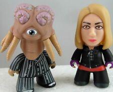Doctor Who TITANS Mini Vinyl GALLIFREY Collection ROSE TYLER & DALEK SEC HYBRID