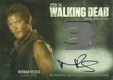 (HCW) 2014 AMC The Walking Dead NORMAN REEDUS Autograph Wardrobe as Daryl Dixon