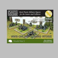 15mm Heavy Weapons Early War German 1939-42 PLASTIC SOLDIER COMPANY PSC