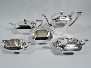 Gorham / Durgin Fairfax Coffee & Tea Set - 4 04 - American Sterling Silver
