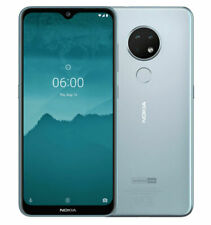 "NOKIA 6.2 Smartphone  ice/silber 6,3""  64GB  Android 10  Dual-SIM -OVP-"