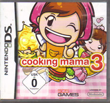 Cooking Mama 3 (Nintendo DS, 2009)