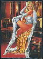 1992 Marvel Masterpieces Trading Card #95 White Queen
