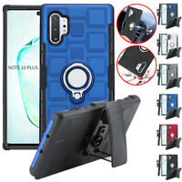 For Samsung S10 S9 S8 Note10 Plus Note9 Note8 Magnetic Ring Clip Holster Case