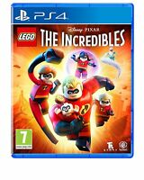 LEGO The Incredibles PS4 Game NEW SEALED