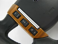 Walnut veneered Steering wheel switch pack button Range Rover SPORT 2005-09 horn