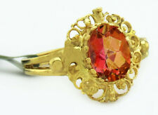 AZOTIC TOPAZ 1.52 Cts  RING 14k YELLOW GOLD * New With Tag *