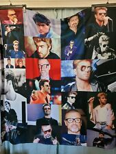 New listing George Michael Picture Collage Fleece Throw Blanket