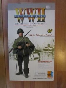 "1/6 12"" 30cm GI JOE ACTION MAN DRAGON NIKITA PETROVICH SAVIN ARMEE ROUGE 1943"