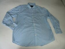 BNWOT CHARLES TYRWHITT OXFORD MEN'S BLUE CLASSIC FIT GINGHAM CHECK SHIRT SIZE XL