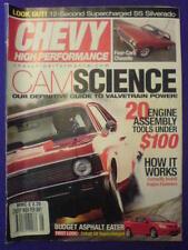 CHEVY HI PERFORMANCE - CAMSCIENCE - May 2005