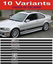 BMW Lato Strisce Decalcomanie Fit 3 SERIE 5 SERIE 318 320 323 325 328 330 525 530 535
