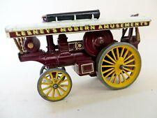 MATCHBOX MODELS OF YESTERYEAR Y9. 1924 Fowler Showman's Engine. RARE DARK MAROON