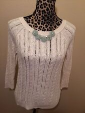 AMERICAN EAGLE OUTFITTERS - IVORY SWEATER -  S/P