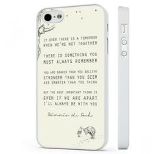 Winnie The Pooh Quote Piglet WHITE PHONE CASE COVER fits iPHONE