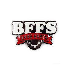 Kidrobot BFFS Love Hurts Logo Enamel Pin NEW In Stock Travis Cain BFFs
