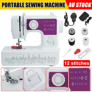 Electric Hand Held Sewing Machine Portable Multi-Function Home Clothes Stitching