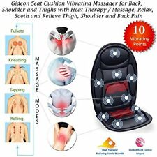 Gideon Seat Cushion Vibrating Massager for Back Shoulder / Thighs with Heat A942