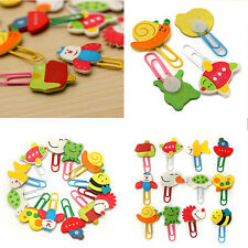CARTOON ANIMAL-SHAPED PAPER CLIPS BOOKMARK UNIQUE CREATIVE SCHOOL STATIONERY