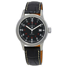 Longines Heritage Military Black Dial Automatic Mens Watch L28324533