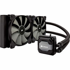 Corsair Hydro Series H110i 280mm Quiet Liquid CPU Cooler Heatsink Fan Intel AMD