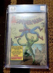 Amazing Spider-Man 20 1965 CGC 4.0 1st Appearance Scorpion