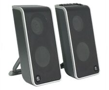 Logitech V20 USB Powered Speakers Includes portable hard carry case