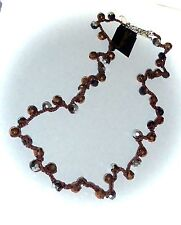 """NWT - COOKIE LEE """"SUDDEN INSPIRATION NECKLACE"""" - MACRAME/GLASS BEADS - #89657"""