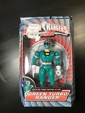 "Power Rangers Turbo 8"" GREEN TURBO RANGER New Factory Sealed 1997"