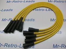FORD Escort mk2 mk3 FIESTA mk1 mk2 High Performance cavi di accensione 8mm Giallo