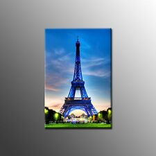 Modern Wall Art Canvas Painting Landscape Eiffel Tower Canvas Print Art No Frame