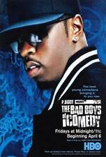 P. DIDDY PRESENTS THE BAD BOYS OF COMEDY Movie POSTER 27x40 Sean 'P. Diddy'