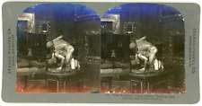 Stereo, Stereo Travel Co., The Wrestlers, Uffizi, Gallery, Florence, Italy Vinta
