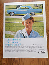 1965 Ford Fairlane 500 Sports Coupe Ad Behind Smile?