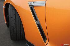 ACE Front Fender Vents PAIR For Nissan R35 GTR Carbon Fiber OE Style A++